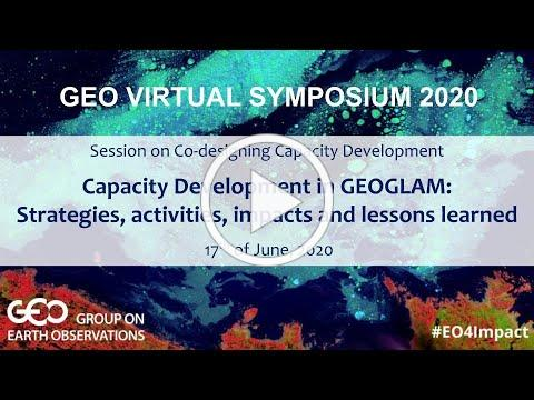 Capacity Development in GEOGLAM: Strategies, activities, impacts and lessons learned