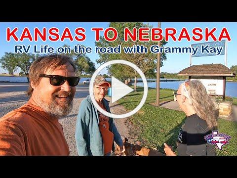 Kansas to Nebraska   Full Time RV Life   RV America Y'all