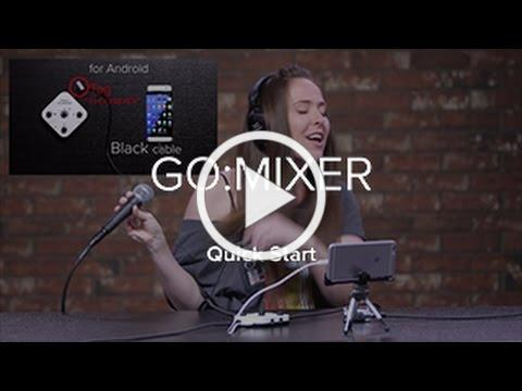 Roland GO:MIXER Quick Start