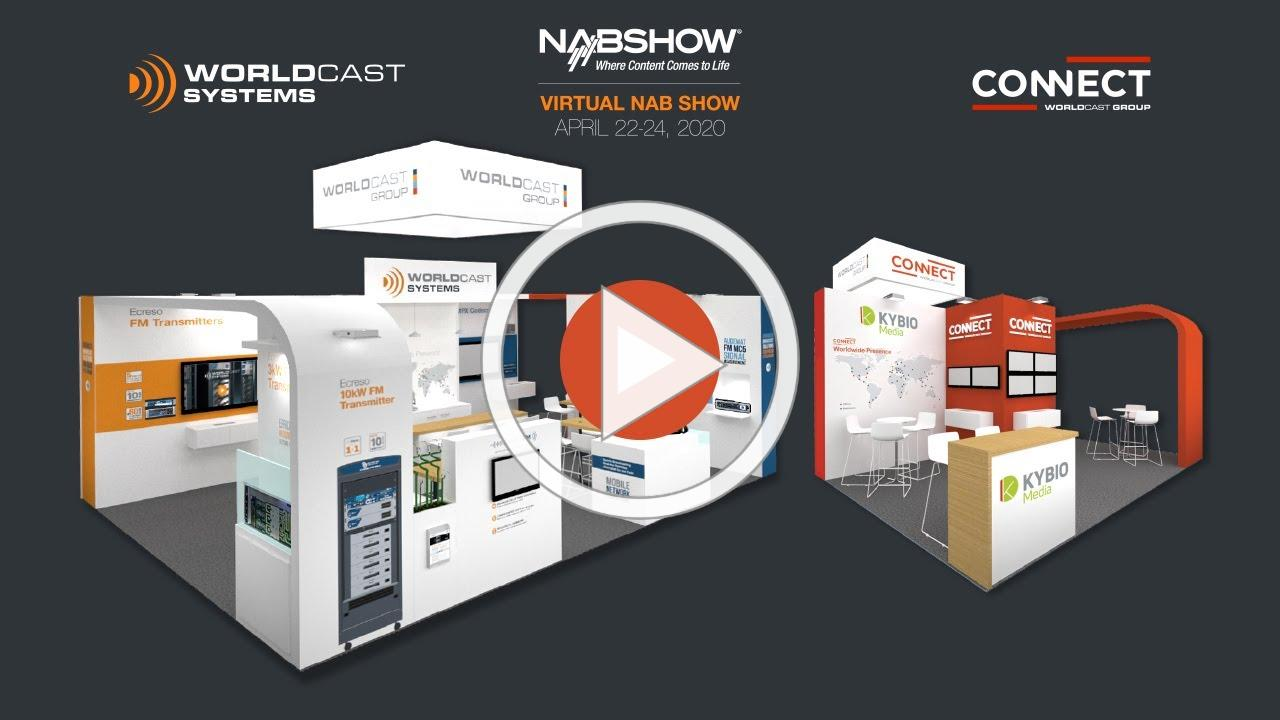 Welcome to our VIRTUAL NAB stand