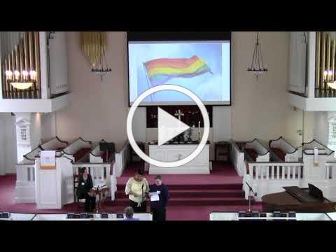 Open & Affirming Moment at Trinity Church