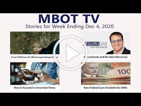 December 4, 2020 | Weekly Recap | MBOT TV