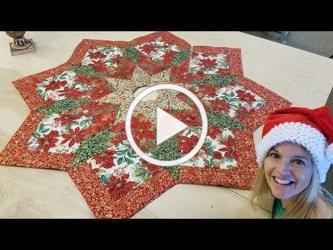SEW A CHRISTMAS TREE SKIRT!