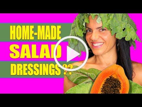 Making salad dressings | WHY | Papaya SEED Dressing | Recipe
