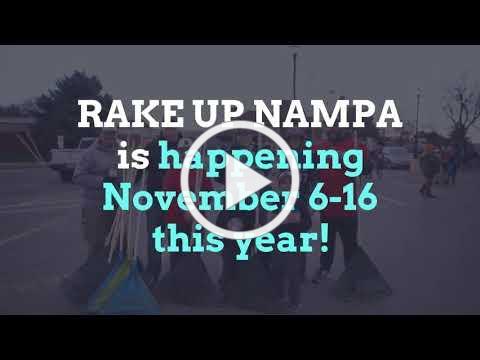 RAKE UP NAMPA is looking for community volunteers