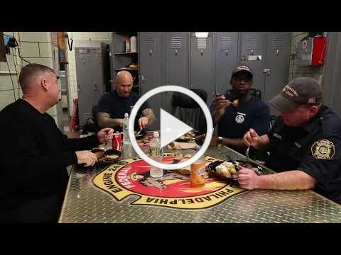 South Philly firehouse dish on dinner time at the station