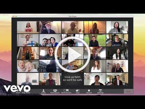 Andrea Bocelli - The Prayer (Lyric Video) ft. Céline Dion