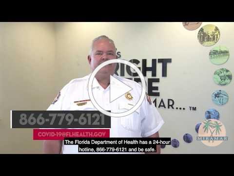 COVID-19 Update | Fire Chief Robert Palmer 01