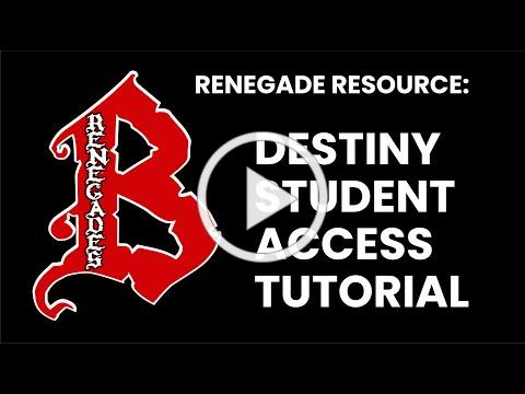 Destiny Student Access Tutorial for Parents