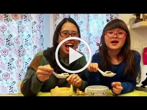 Grace Lin shows how to make sweet dumplings for the Lunar New Year
