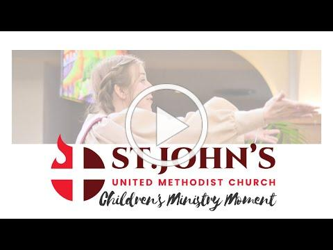 Preschool Ministry Moment--June 7, 2020