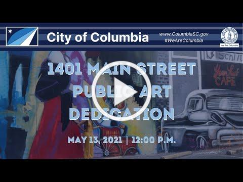 1401 Main St. Public Art Dedication Ceremony