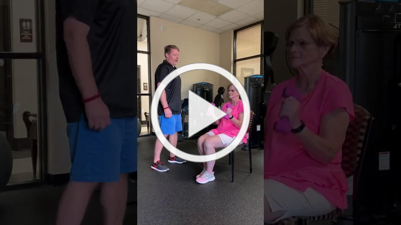 Workout Video with Carl and Kathy