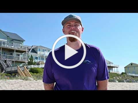 Emerald Isle dunes and sand fencing