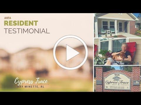 Resident Testimonial: Cypress Trace Apartments, Bay Minette
