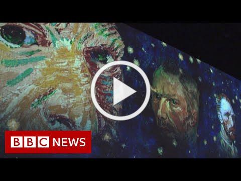 Driving into the art of Vincent Van Gogh - BBC News