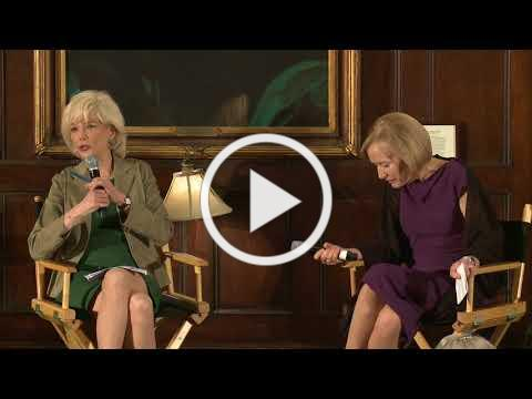 Deadline Club Awards 2018 Dinner Conversation with Judy Woodruff and Lesley Stahl