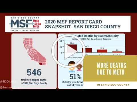 DA NEWS: More Deaths Due to Meth in San Diego County
