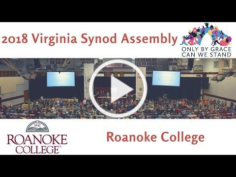 Synod Assembly 2018 Updates-Roanoke College