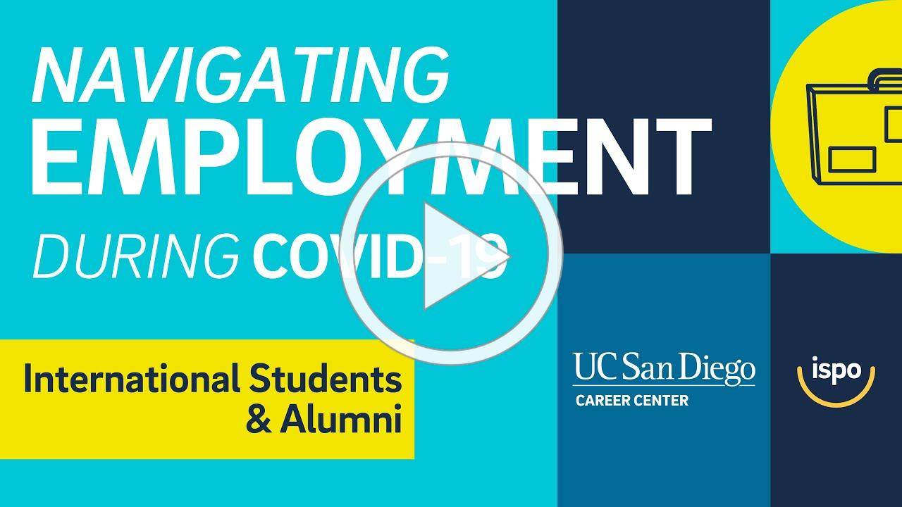 EPISODE 1 - Navigating Employment During COVID-19