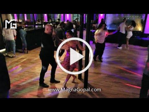 Magna Gopal & Ismael Otero Pole Dancing Salsa @ Salsa On The Hudson, NJ