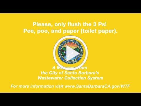 City of Santa Barbara: What to Flush?