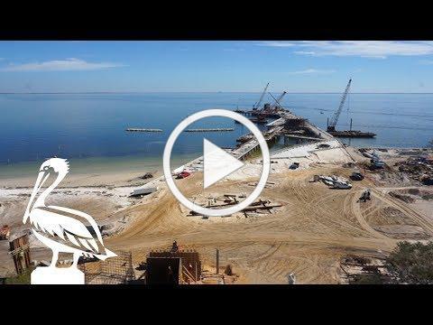 Pier Progress: February   St Pete, FL