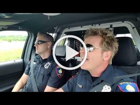 Karaoke with Fond du Lac police