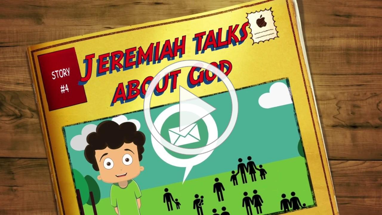 """4 Jeremiah talks about God / Bible Story for Kids / VBS """"Time to Shine"""""""