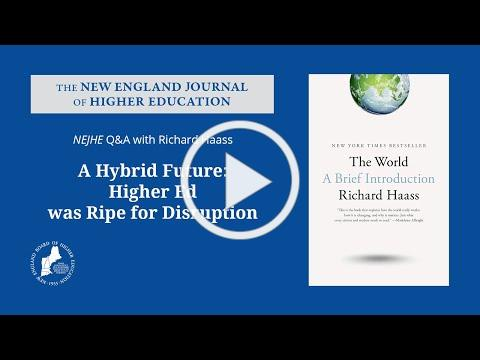 A Hybrid Future: Higher Ed Was Ripe for Disruption