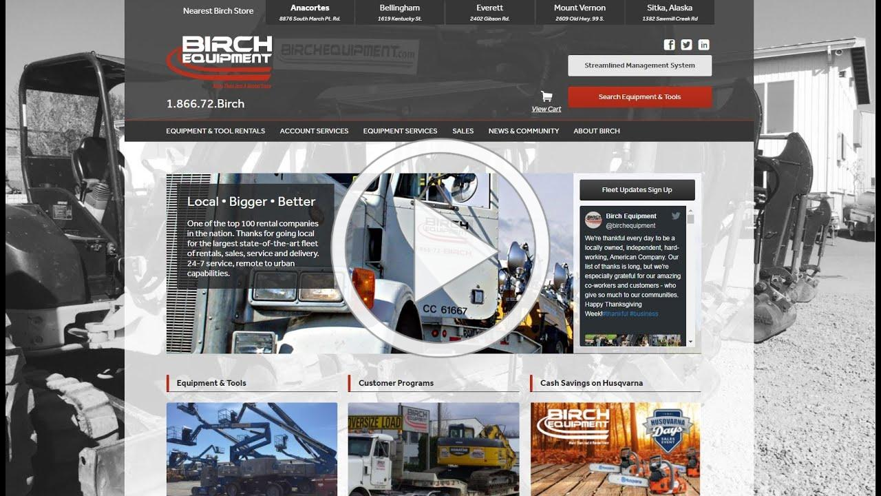 Birch Website Search for Aerial