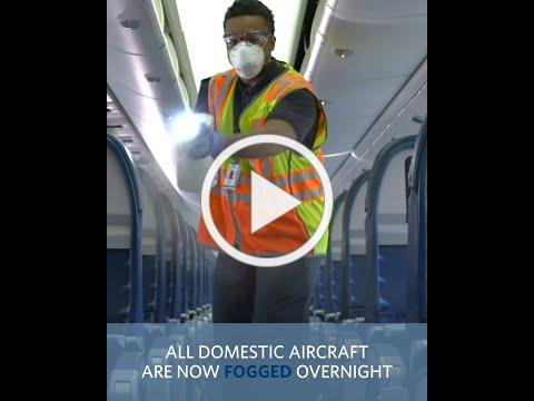 Creating a Higher Standard of Clean | Delta Air Lines
