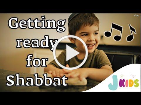 Getting ready for SHABBAT Song