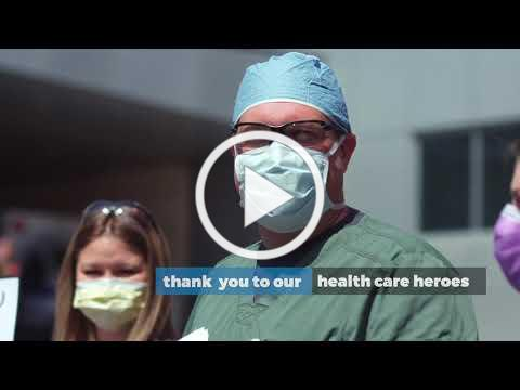 First Responders Salute Health Care Workers