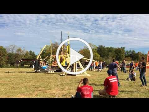Harvest Homecoming Pumpkin Chunking Competition