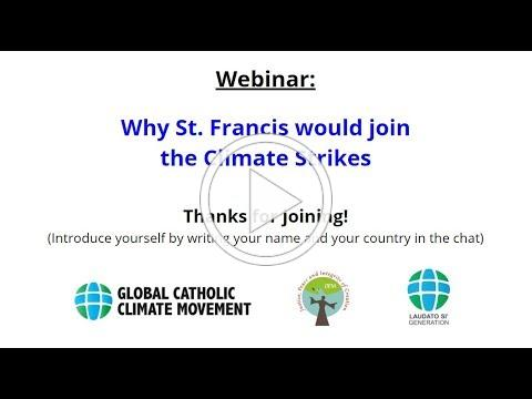 Why St. Francis would join the Climate Strikes