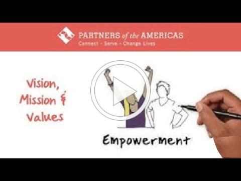 Partners of the Americas Vision, Mission and Values | 2019-2023 Strategic Plan