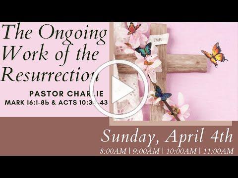 11:00AM Easter Sunday Worship at Memorial, April 4th, 2021
