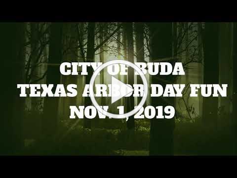 Texas Arbor Day Fun - City of Buda