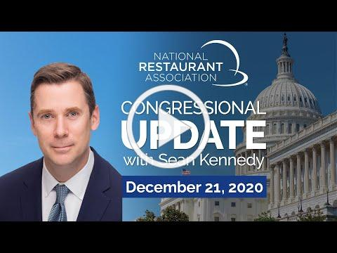 90 Second Advocacy Update w/Sean Kennedy - Dec. 21