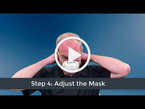 Putting on and Taking off a Mask