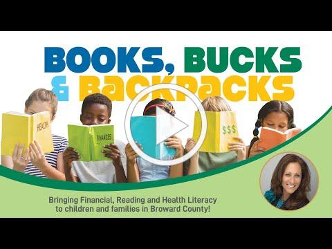 Books, Bucks and Backpacks Thank You from Laurie Sallarulo