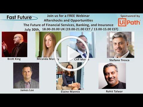 Aftershocks and Opportunities - The Future of Financial Services, Banking, and Insurance