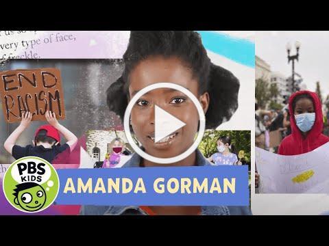 "🇺🇸 Inaugural Poet Amanda Gorman reads ""Talking Gets Us There"" | PBS KIDS Talk About | PBS KIDS"
