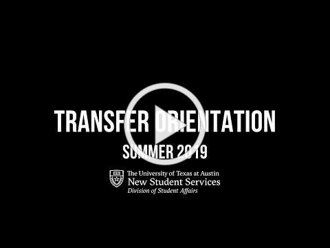 UT Austin Transfer Orientation 2019 Recap Video