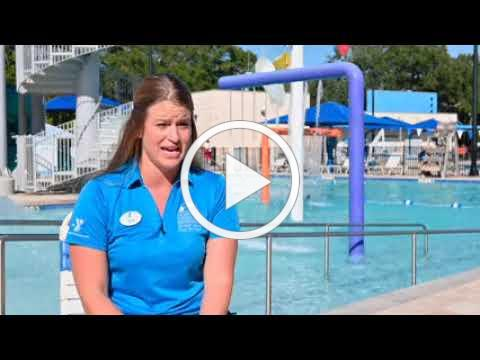 Children's Board Mobile Swim Program, highlighting a child with Special Abilities.