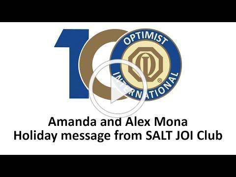 Holiday Message from SALT JOI Club