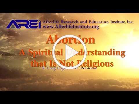 Abortions - A Spiritual, Non-religious, Understanding
