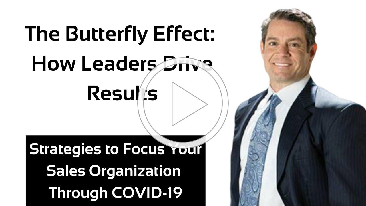 Strategies to Focus Your Sales Organization Through COVID-19