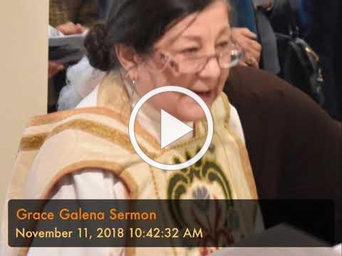 Grace Galena Sermon